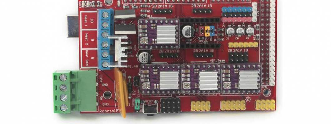 RAMPS 1.4 Connections