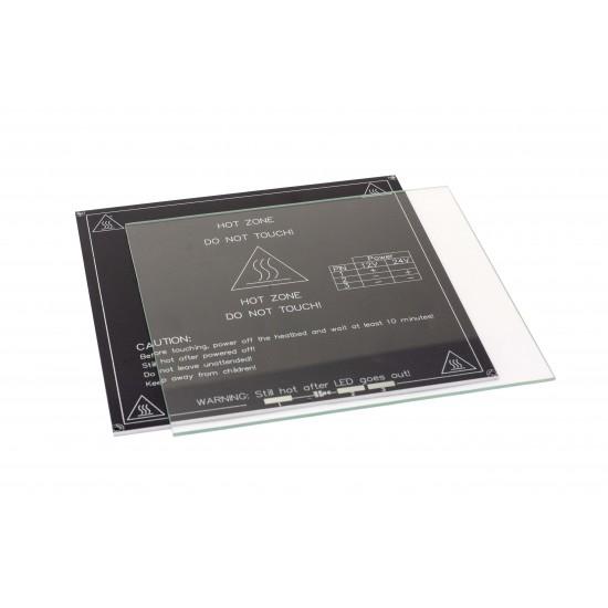 Cristal Templado de borosilicato 213x200x3mm