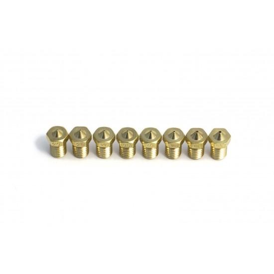 Boquilla / Nozzle 1.75mm de 0.20mm a 1.00mm