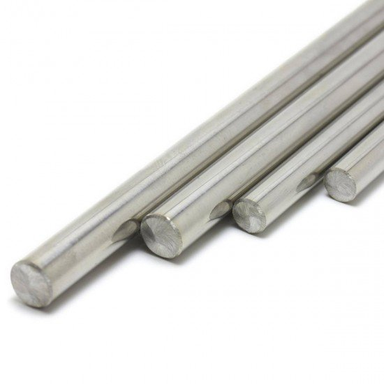 Calibrated smooth rod diameter 8mm - Cut to size