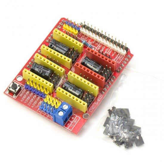 Placa de expansión para Arduino UNO - CNC Shield V3