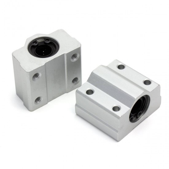 Rodamiento lineal SC8UU con soporte de aluminio