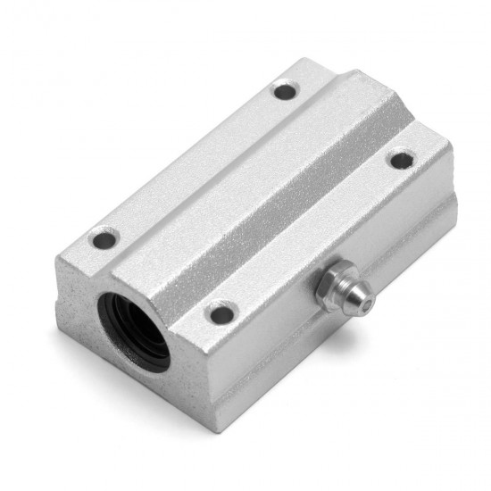 SC8LUU Long lineal bearing with aluminum bracket