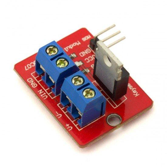 Módulo mosfet 0-24v IRF520 - Compatible con Arduino