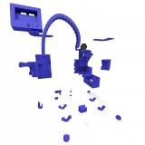 Piezas Impresas Prusa I3 Steel - P3Steel por HTA3D