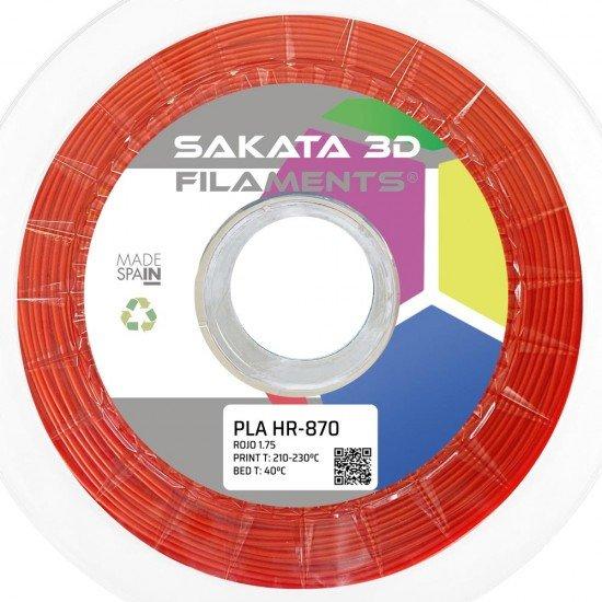 Filamento HR-PLA INGEO 3D870 - Alta Resistencia - 1.75mm - Sakata 3D