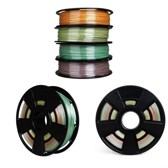 PLA 3D filament - GCC - Cambio de color gradual - 1.75mm - 750g