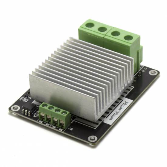 30A Mosfet Module with heatsink and hot bed compatible - Compatible with Arduino