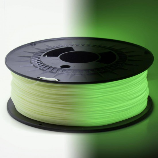 Filamento PLA-LD 3D850 - Brilla en la Oscuridad - 1.75mm - Materials 3D / WINKLE