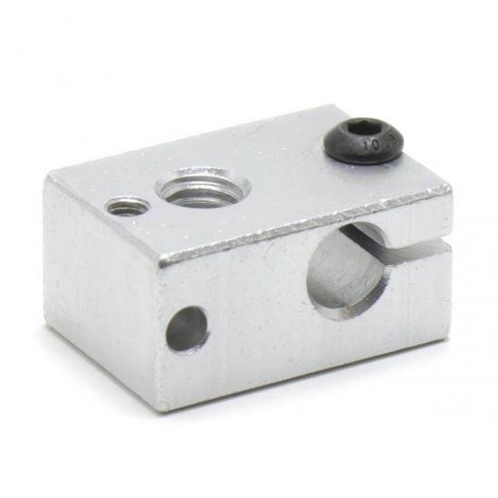 Bloque calefactor v6 para termistor PT100 3mm - Rosca M6 - Compatible con v5 y v6