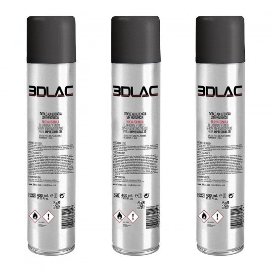 3DLAC - Spray for fixing in hot bed - 400ml