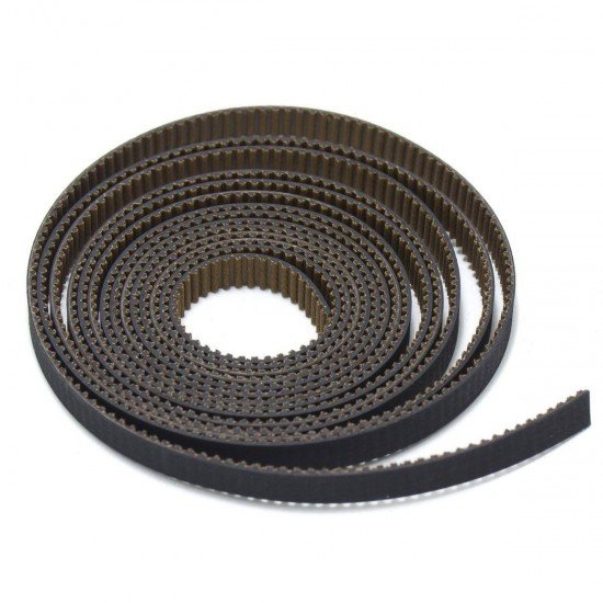 GT2 Timing Belt - Wear resistant and reinforced with fiberglass - 6mm - 1m