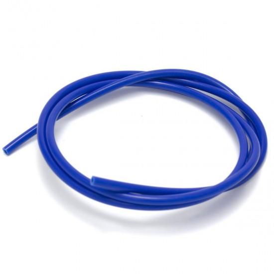 Blue teflon tube (PTFE) for 1.75mm filament IØ 2MM / OØ 4MM - 10cm