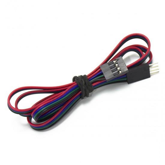 Cable Dupont 4P Macho-Hembra - 70cm