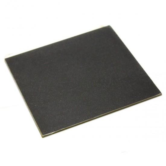 Cristal para cama caliente con recubrimiento microposoro tipo Ultrabase - 220x220x4mm