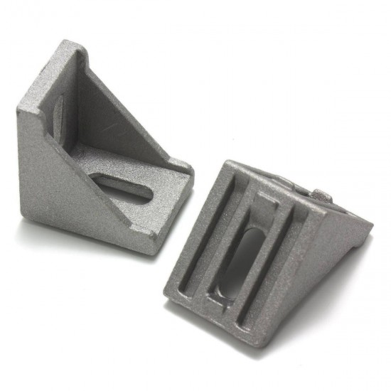 Square connector for aluminum profiles 3030