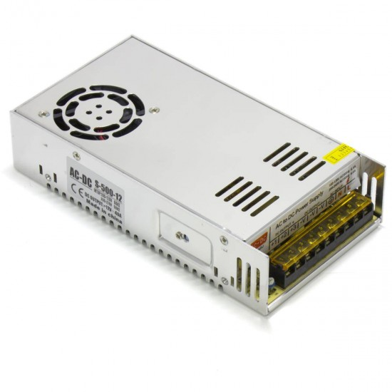 Compact Power Supply - DC 12V 40A - 500W