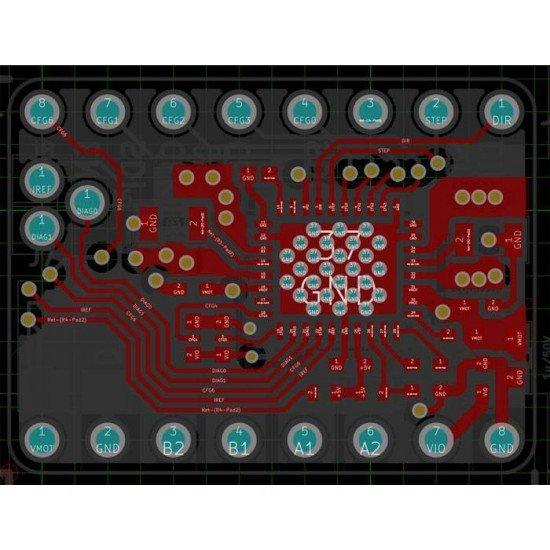 TMC2130 - Soldados para SPI - Controlador para motor paso a paso Silencioso - Driver