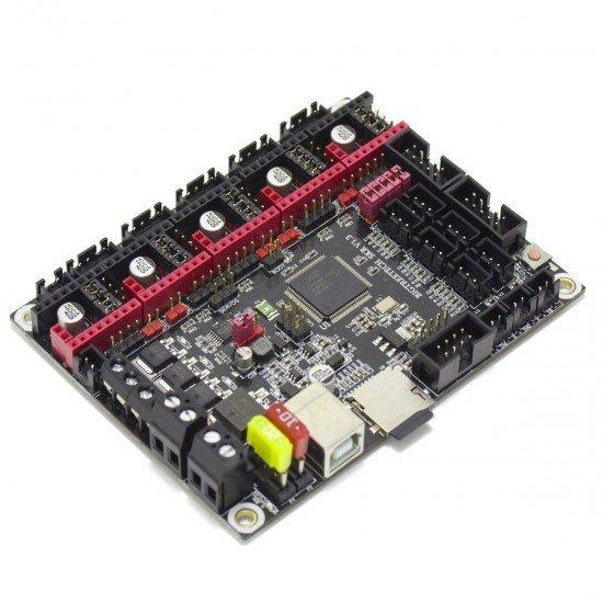 SKR V 1.3 - 32-bit board with LPC1768 processor - Marlin 2 compatible - STEP/DIR SPI or UART - 12v or 24v