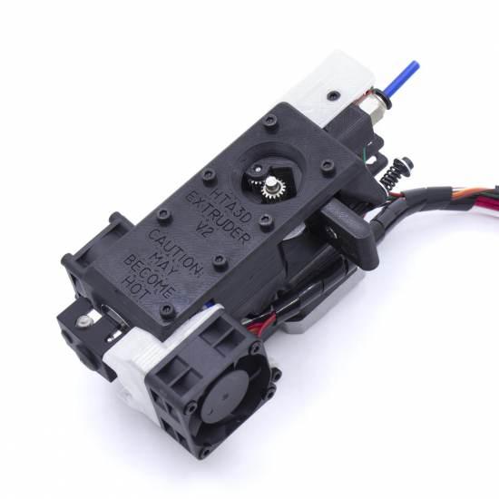 Extrusor HTA3D V2 - Optimizado para filamentos flexibles  - Poleas duales - Nivelación automática con 3DTouch