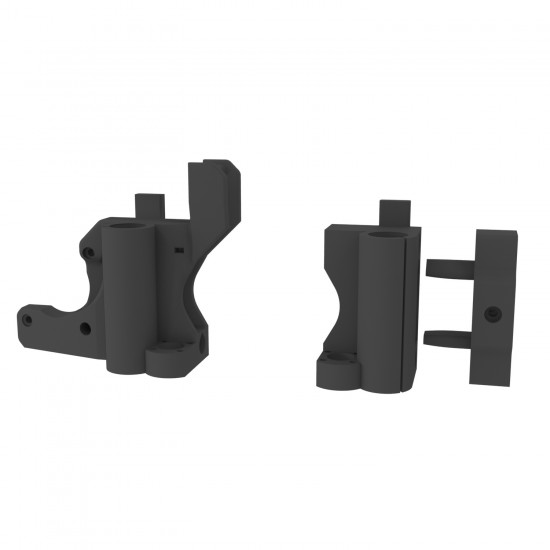 Printed parts of X axis of the 3DSteel printer