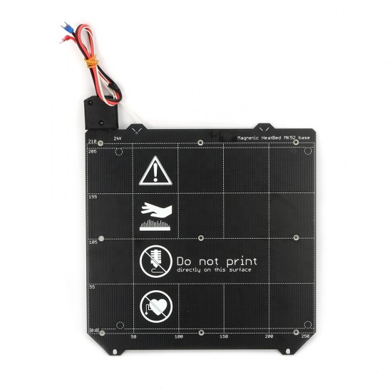 MK52 Heatbed 24v - Cama Caliente Magnética
