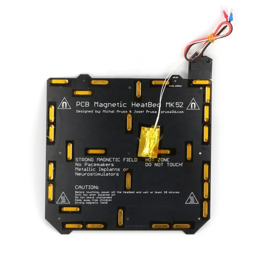 MK52 Magnetic Heatbed 24v