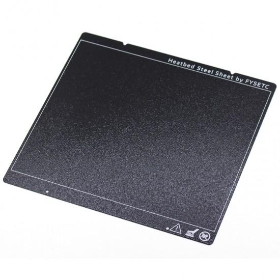 Lámina Metálica y Flexible recubierta de polvo de PEI por ambos lados - Para cama caliente magnética MK52