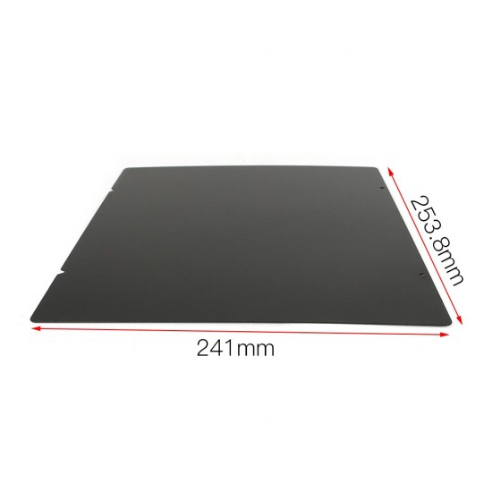 PEI powder coated flexible metal sheet on both sides - For magnetic hot bed MK52