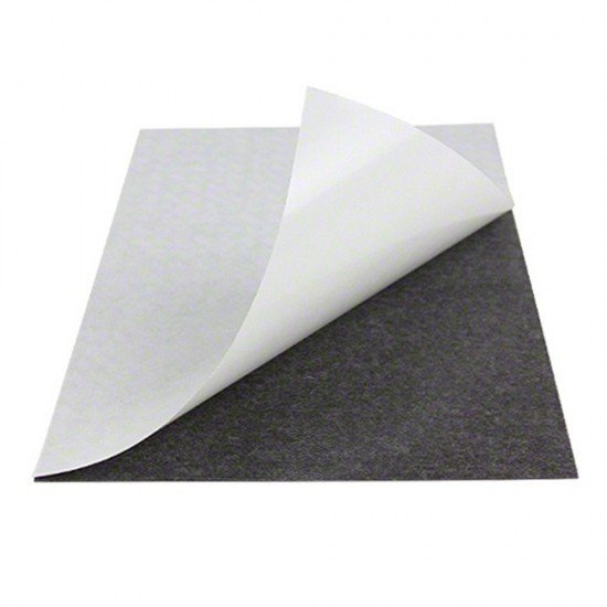 Lámina magnética - Imán adhesivo para cama caliente cortado a medida - 1mm de grosor