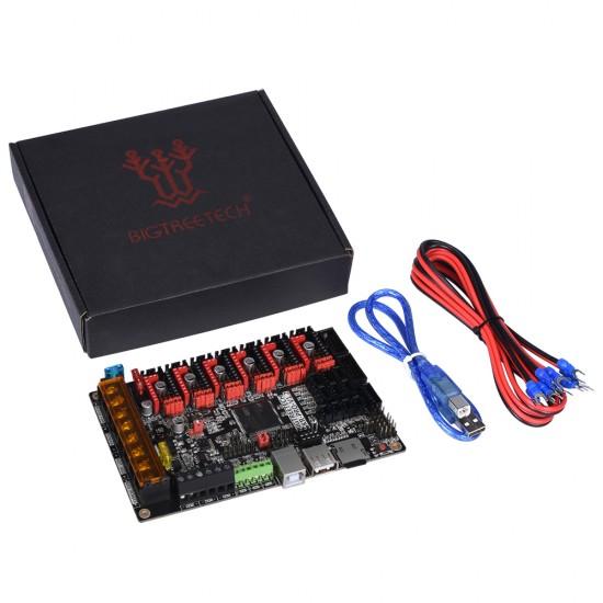 SKR PRO V1.2 - Control board for 3D printer - 32 bits compatible with UART and SPI controllers - 12 / 24v