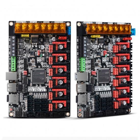 SKR PRO V1.2 - Placa de control para impresora 3D - 32 bits compatible con controladores por UART y SPI - 12 / 24v