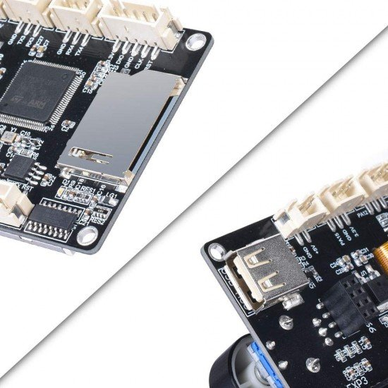 TFT35 V3.0 Pantalla Táctil con doble función compatible con LCD gráfico 12864 y menú táctil - Compatible con Wifi
