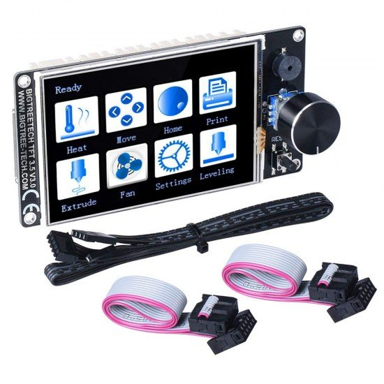TFT35 V3.0 Touch screen with dual function compatible with graphic LCD 12864 and touch menu - Wifi compatible