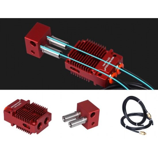 Bowden Multicolor Hotend 2 inlets 1 outlet - Mix - 1.75mm