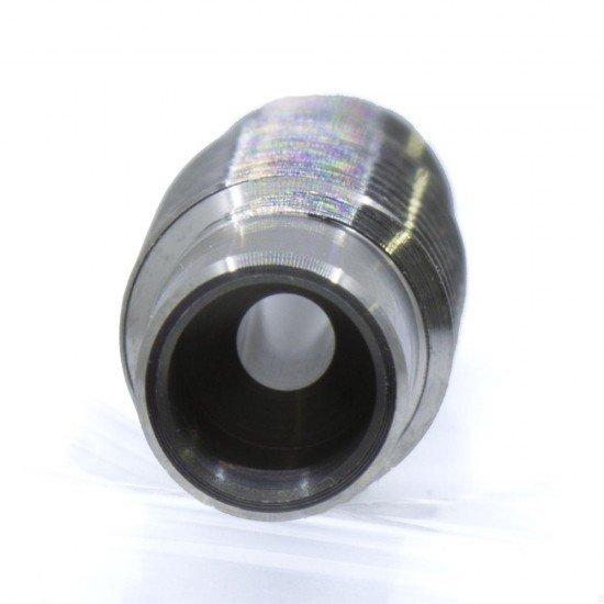 Garganta v6 de Titanio con pulido interior efecto espejo - Rosca M6 M7 - Compatible con v6 - All metal
