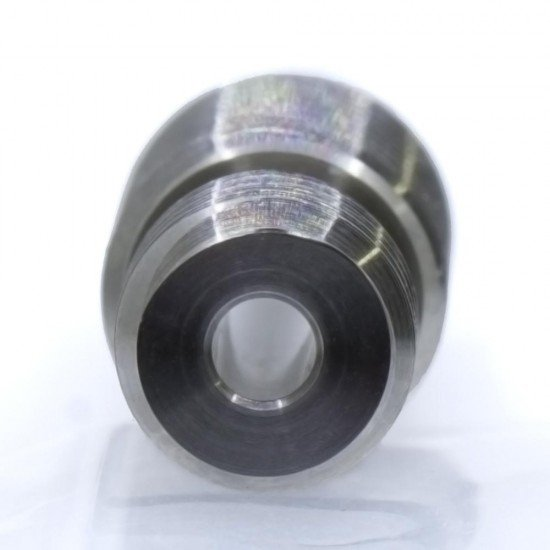 Throat v6 Titanium with polished interior mirror effect - Threat M6 M7 - v6 compatible - All metal