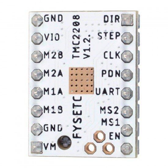 TMC2208 - Controlador para motor paso a paso Silencioso - Driver