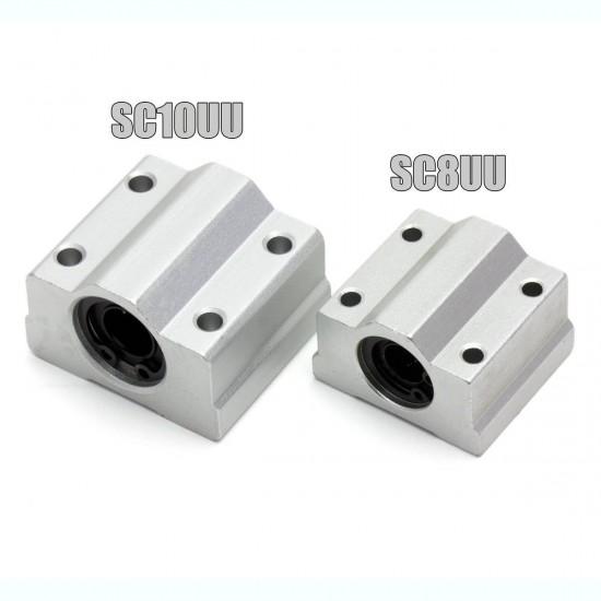 SC12UU Lineal bearing with aluminum bracket