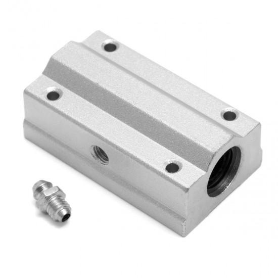 SC12LUU Long lineal bearing with aluminum bracket
