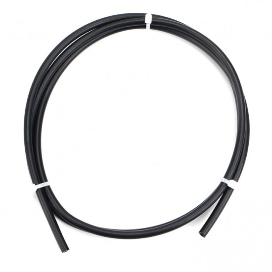 Tubo de teflón (PTFE) negro para filamento 1.75mm IØ 2MM / OØ 4MM - 10cm