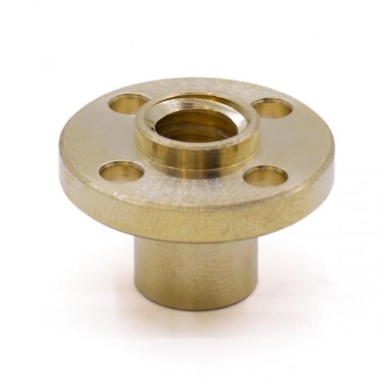 Tuerca de cobre T8x2 para husillo trapezoidal díametro 8mm