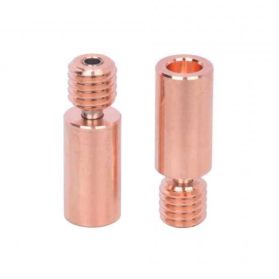Throat v6 Bimetal Heatbreak High quality - Thread M6 & 7mm diameter - Compatible with v6 - All metal