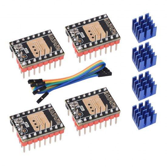 TMC2226 - UART - STEP/DIR - Controlador para motor paso a paso Silencioso - Driver