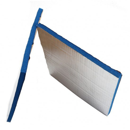 Adhesive thermal insulation for heatedbed