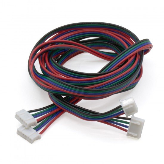 Cable for Nema 17 stepper motor - 4 pins - Connector XH2.54 - 1 meter