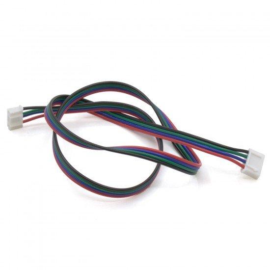 Cable para motor Nema 17 - 4 pines - Conector XH2.54 - 0.5 metros