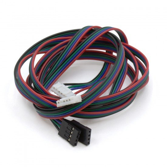 Cable for Nema 17 stepper motor - 4 pins - Connector DuPont - 1 meter
