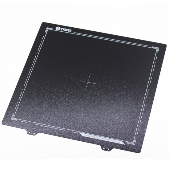 PEI powder coated flexible metal sheet on both sides - For magnetic hot bed MK3 300x300
