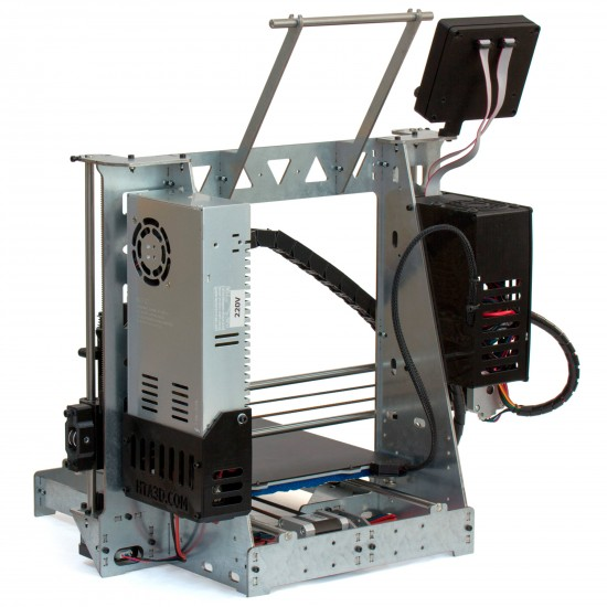3DSteel V2 - 24V 32 bits 3D Printer - Evolution of P3Steel / Prusa i3 Steel